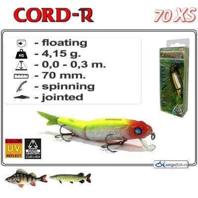 CORD R XS 70F