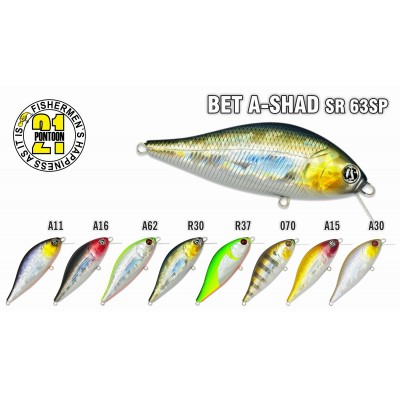 BET A-SHAD SR 63SP