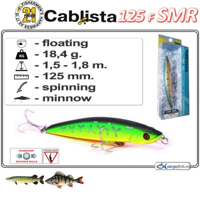 CABLISTA 125F SMR