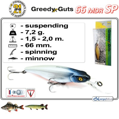 GREEDY GUTS MDR 66SP