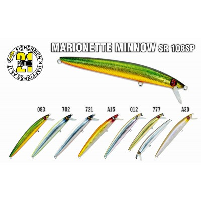 MARIONETTE MINNOW SR 108SP