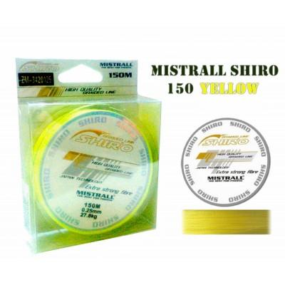 SHIRO желтая 150