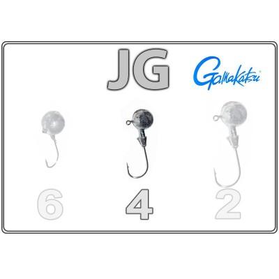Джиг-головки JG 4 с крючком Gamakatsu