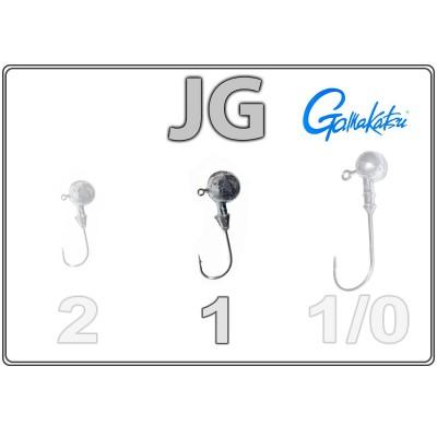 Джиг-головки JG 1 с крючком Gamakatsu