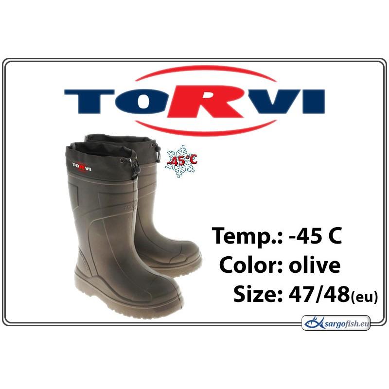 Сапоги TORVI olive, -45C - 47/48