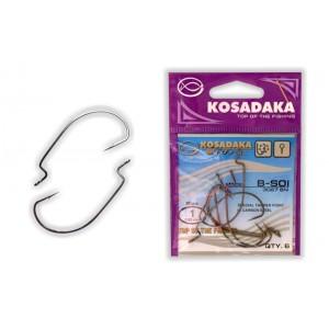 Крючки KOSADAKA B-Soi WORM BN - 1