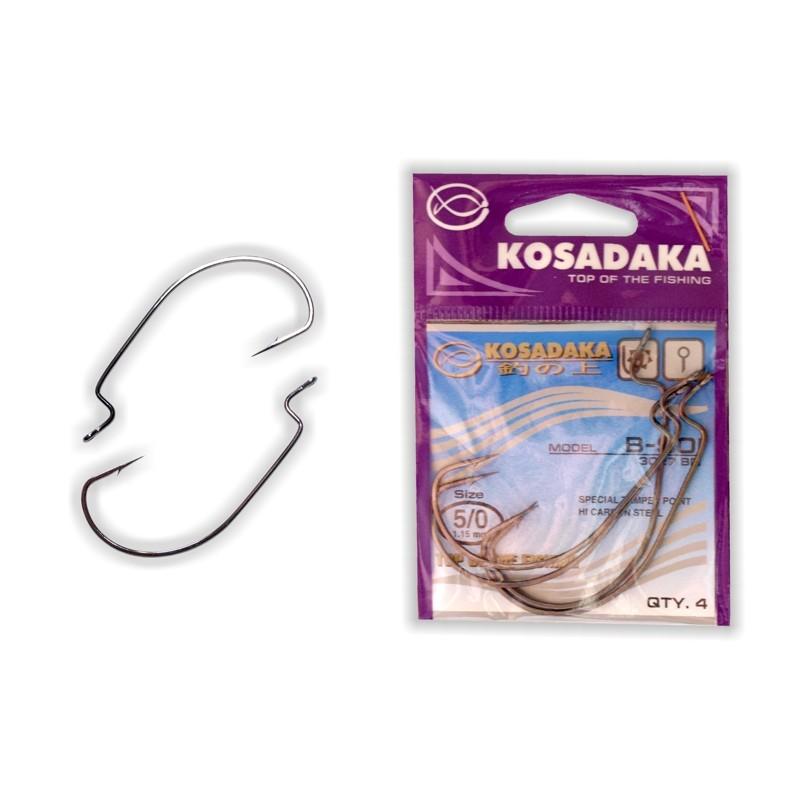 Крючки KOSADAKA B-Soi WORM BN - 5/0