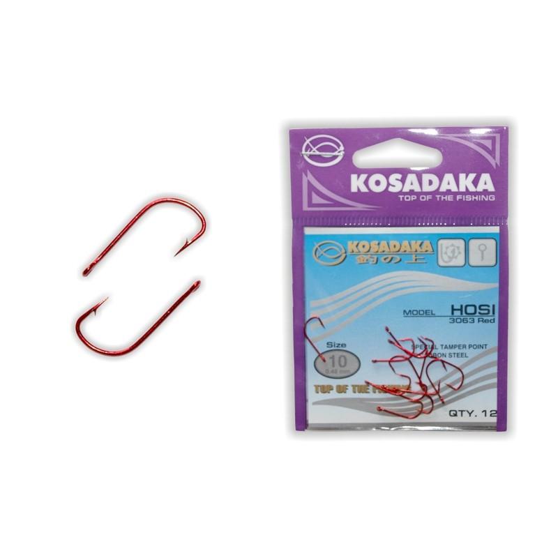 Крючки KOSADAKA Hosi Red - 10