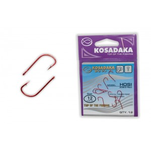 Крючки KOSADAKA Hosi Red - 12
