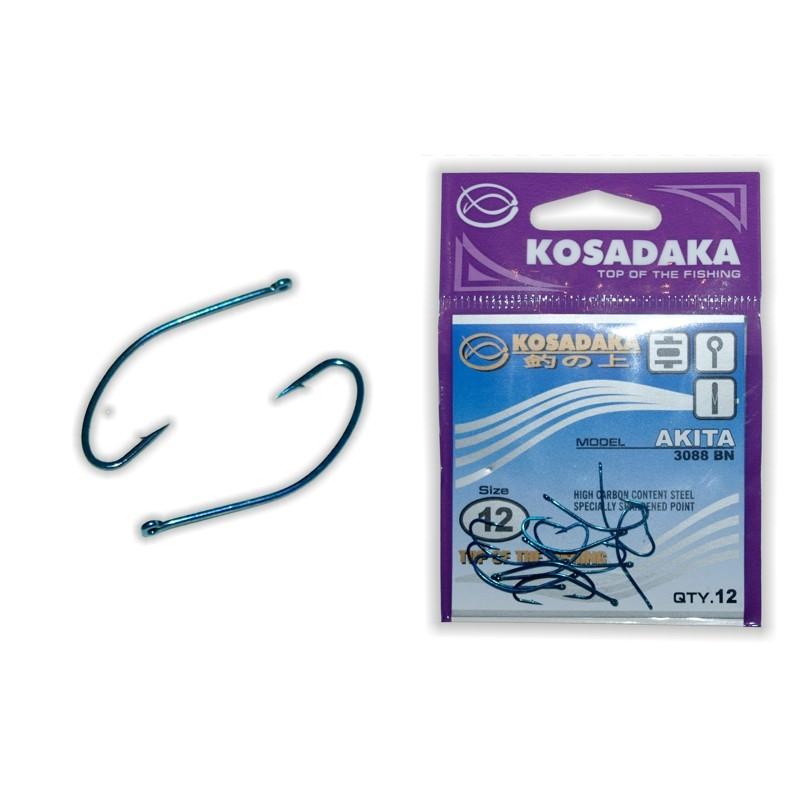 Крючки KOSADAKA Akita Blue - 12