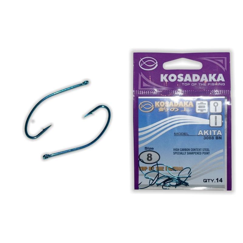Крючки KOSADAKA Akita Blue - 8