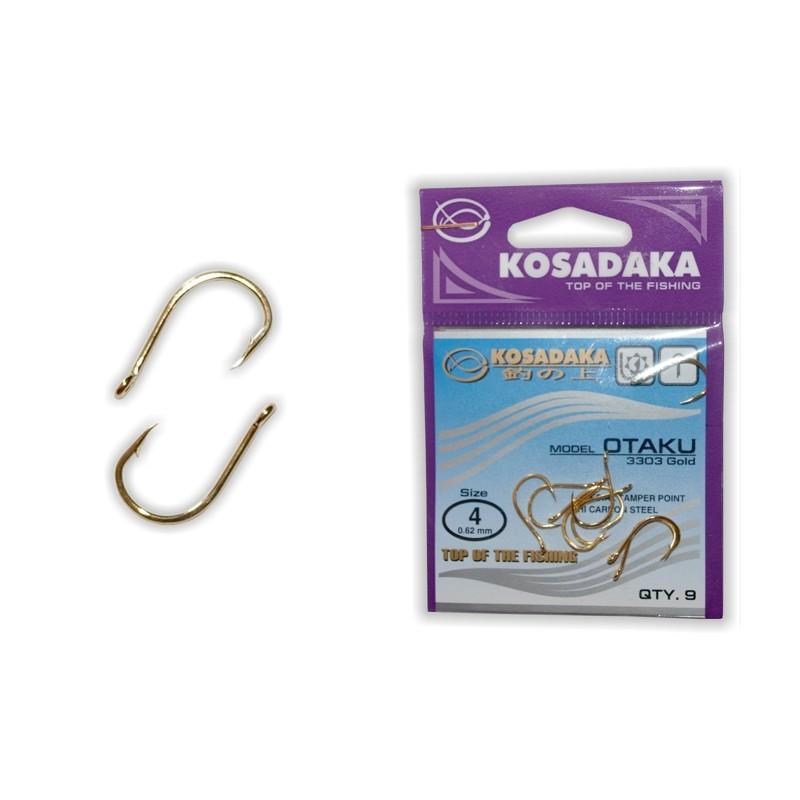 Крючки KOSADAKA Otaku Gold - 4