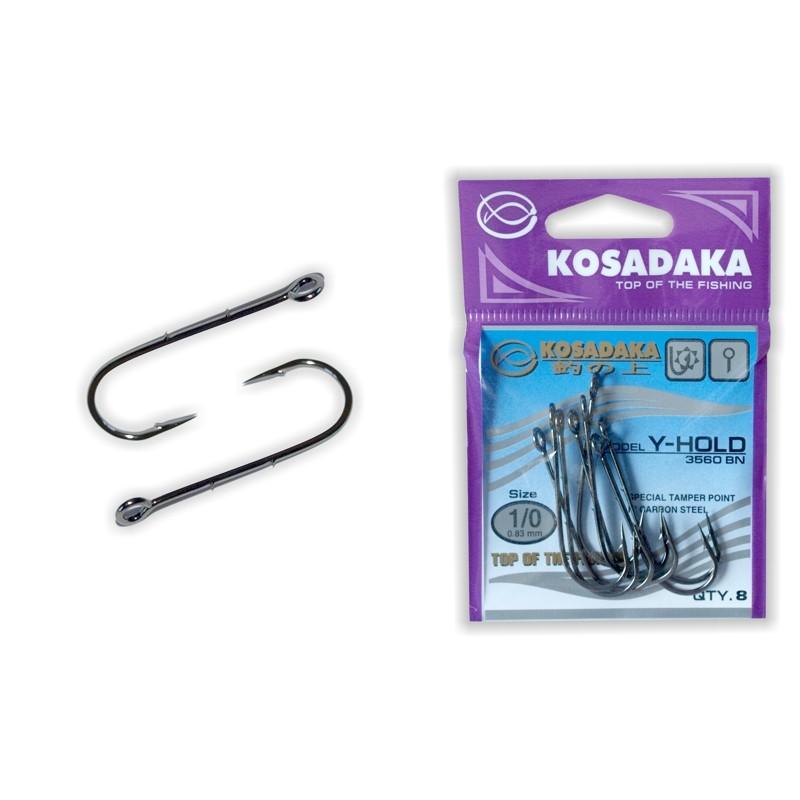 Крючки KOSADAKA Y-Hold BN - 1/0