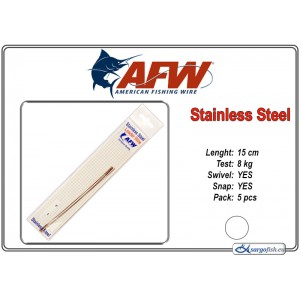 Поводок AFW Stainless STRING (15.0 - 8.0)