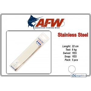 Поводок AFW Stainless STRING (22.0 - 8.0)