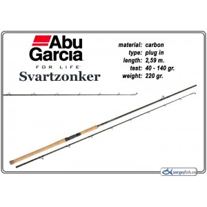 Спиннинг ABU GARCIA Svartzonker H - 259, 40-140