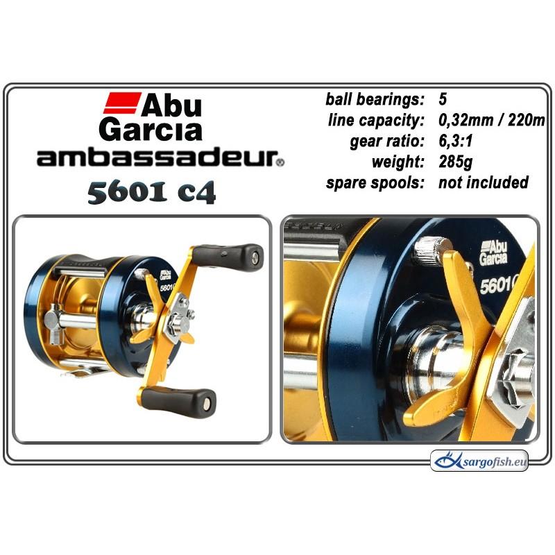Катушка ABU GARCIA Ambassadeur Classic C4 - 5601