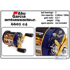 Катушка ABU GARCIA Ambassadeur Classic C4 - 6601