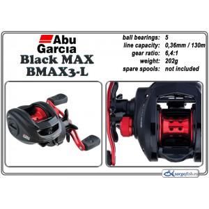 Катушка ABU GARCIA Black MAX BMAX3 - L