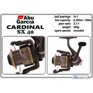 Катушка ABU GARCIA Cardinal SX - 40