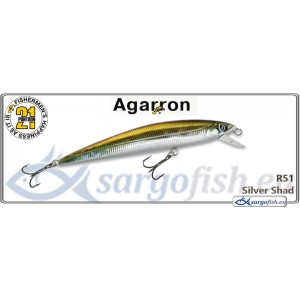 Воблер PONTOON 21 Agarron SR 110SF - R51