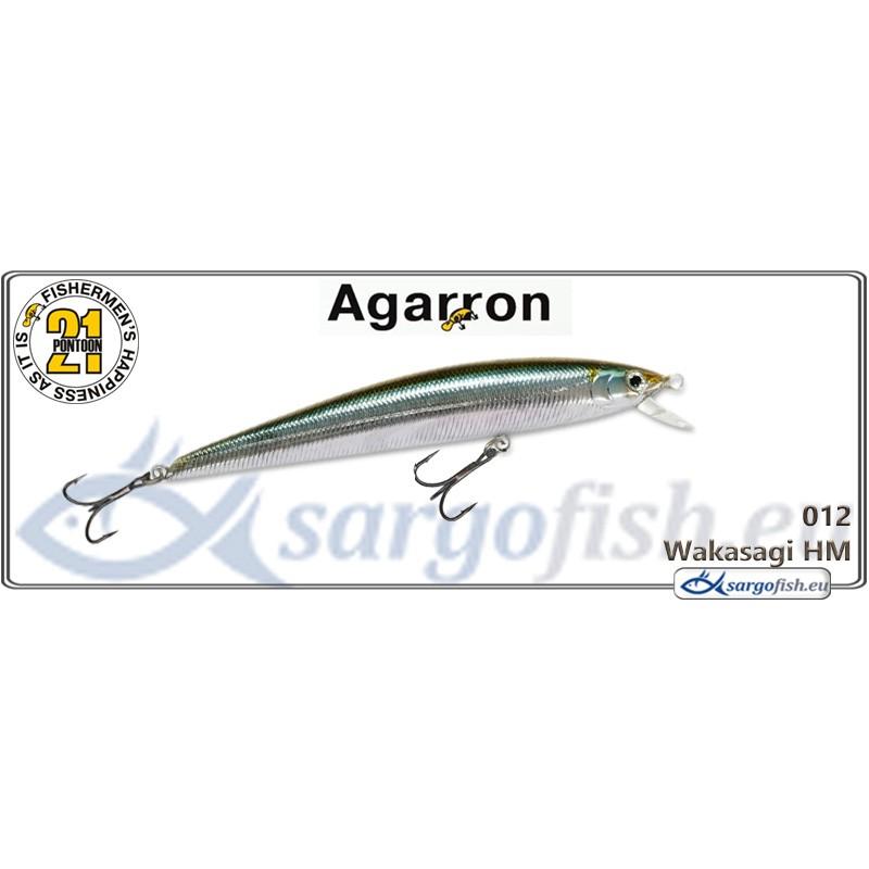 Воблер PONTOON 21 Agarron SR 95SF - 012