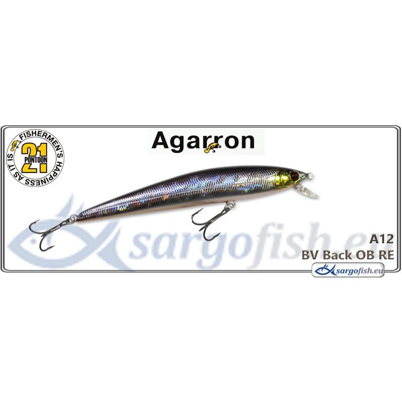 Воблер PONTOON 21 Agarron SR 95SF - A12