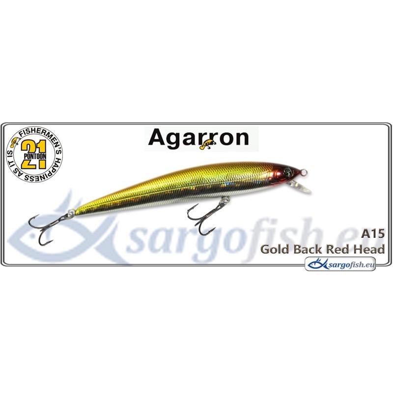 Воблер PONTOON 21 Agarron SR 95SF - A15