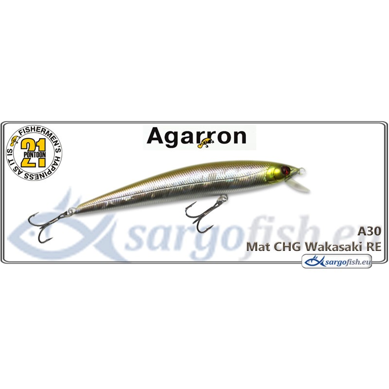 Воблер PONTOON 21 Agarron SR 95SF - A30