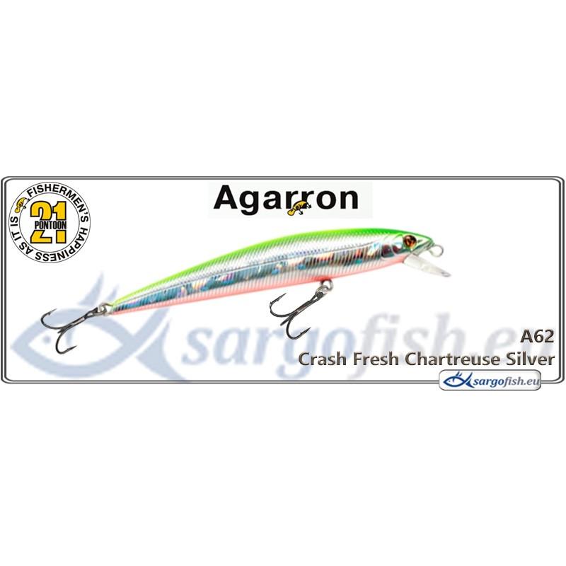Воблер PONTOON 21 Agarron SR 95SF - A62