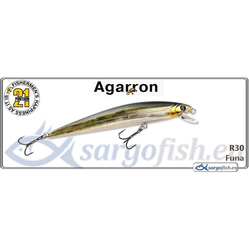 Воблер PONTOON 21 Agarron SR 95SF - R30