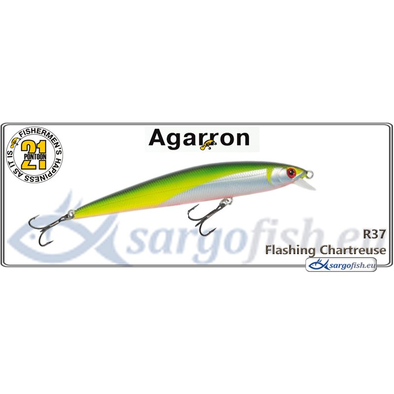 Воблер PONTOON 21 Agarron SR 95SF - R37