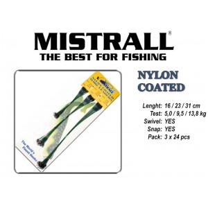 Поводок MISTRALL Nylon - 16/23/31