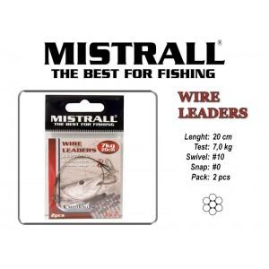 Поводок MISTRALL 1x7 (7.0 - 20)