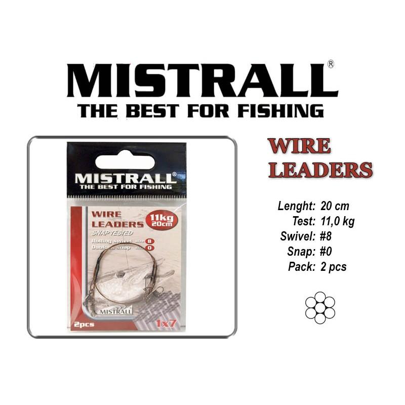 Поводок MISTRALL 1x7 (11.0 - 20)