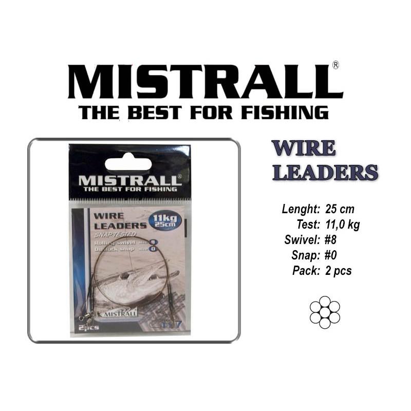 Поводок MISTRALL 1x7 (11.0 - 25)