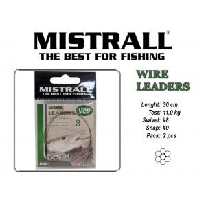 Поводок MISTRALL 1x7 (11.0 - 30)