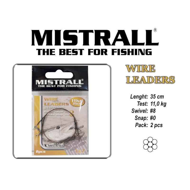 Поводок MISTRALL 1x7 (11.0 - 35)