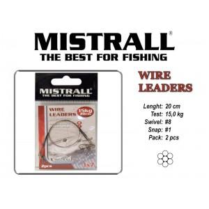 Поводок MISTRALL 1x7 (15.0 - 20)