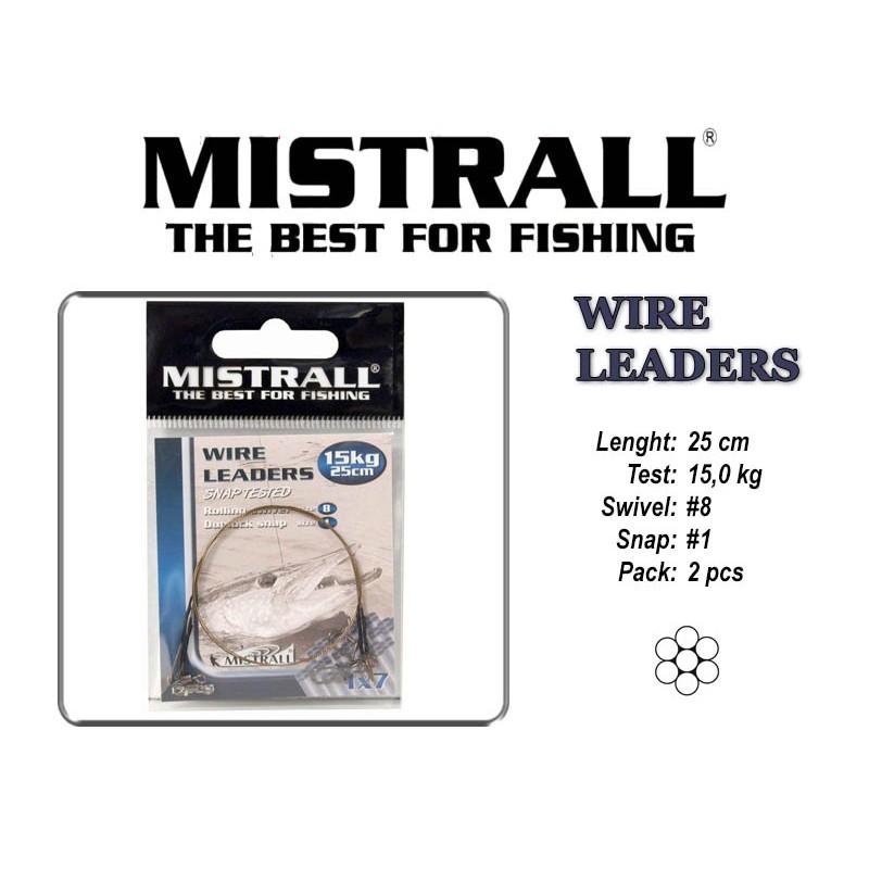 Поводок MISTRALL 1x7 (15.0 - 25)