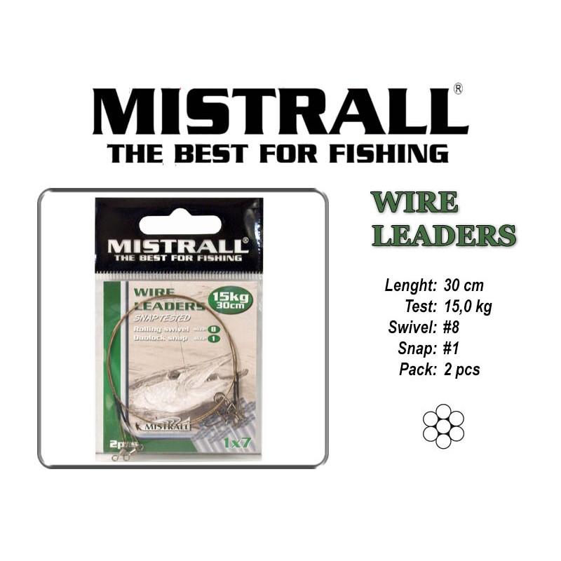 Поводок MISTRALL 1x7 (15.0 - 30)