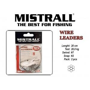 Поводок MISTRALL 1x7 (20.0 - 20)