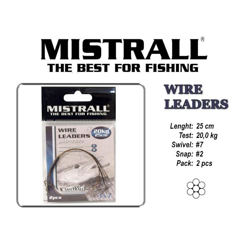 Поводок MISTRALL 1x7 (20.0 - 25)