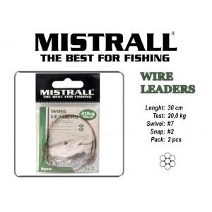 Поводок MISTRALL 1x7 (20.0 - 30)