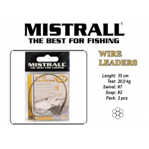Поводок MISTRALL 1x7 (20.0 - 35)