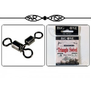 Вертлюг AR FISH Triangle Swivel - 8