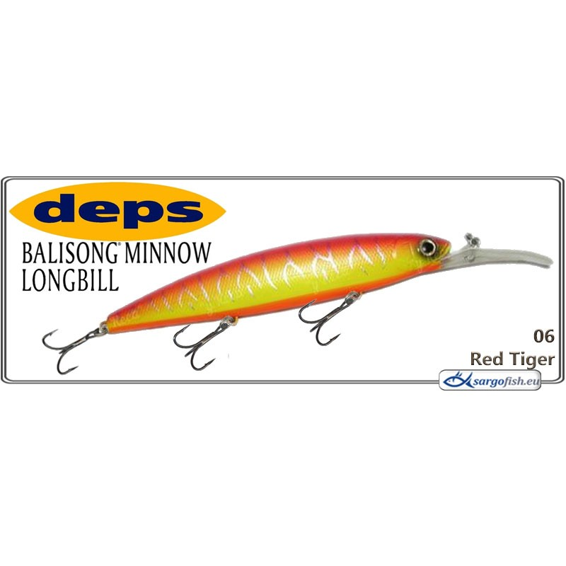 Воблер DEPS Balisong Minnow Long Bill 130SF - 06