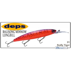 Воблер DEPS Balisong Minnow Long Bill 130SF - 31