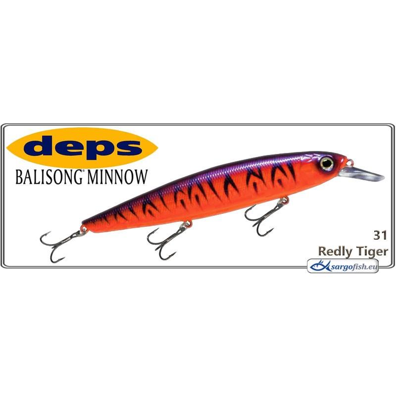 Воблер DEPS Balisong Minnow 130SP - 31