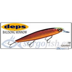 Воблер DEPS Balisong Minnow 130SP - 30